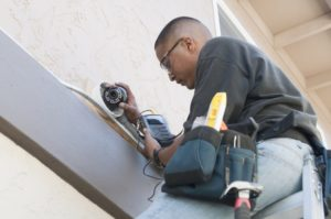 installing home security